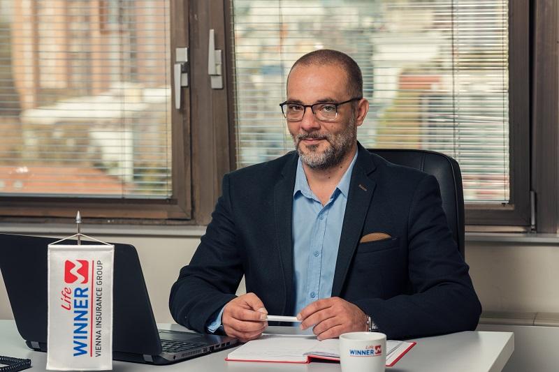 Марко Дамевски, менаџер за продажба, винер лајф